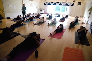 retreat yoga